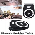 Wireless Bluetooth Car Kit Stereo Bass Speaker Speakerphone Handsfree Car Kit for iPhone 5 6 Samsung