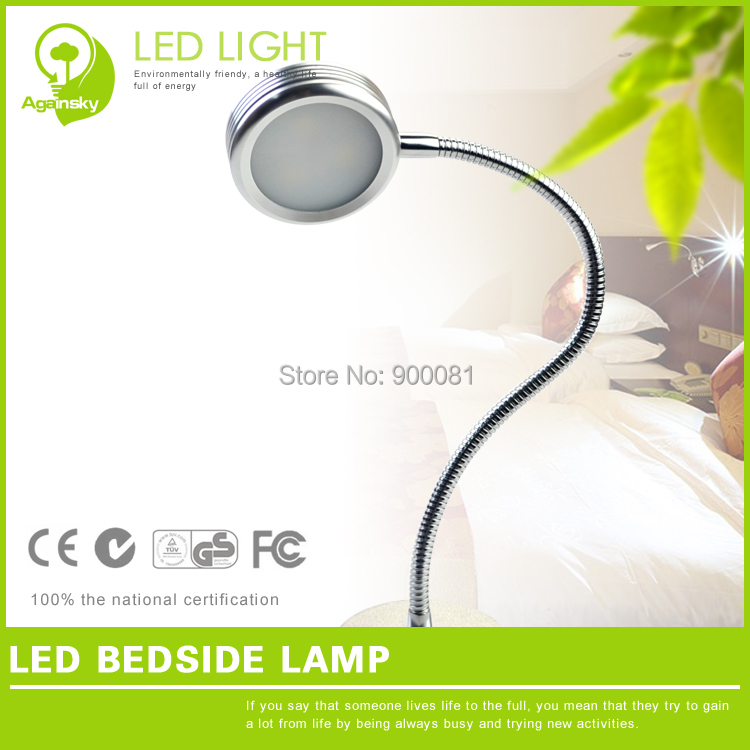 2 pcslot 3W LED Bedside Sleep Lamp AC220V Warm white  -> Wandleuchte Led Modern