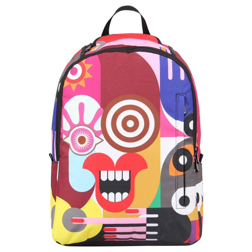 VN backpack fashion women backpacks school bags brand women bag printing backpacks geometric bag bolsos casual travel bag(China (Mainland))