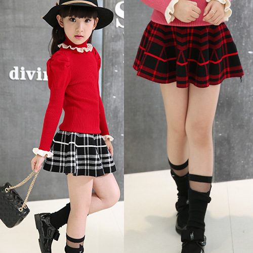 2016 children clothing new girl skirt miniskirt in Korean children baby all match child baby skirt