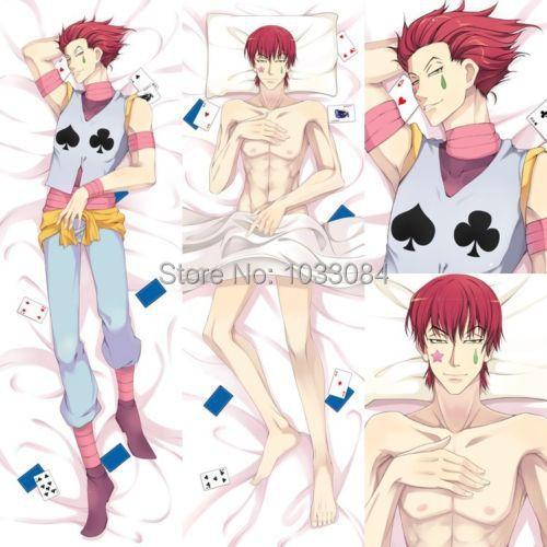 Anime Hunter x Hisoka Csai Male Dakimakura Pillow Case Cover Hugging Body