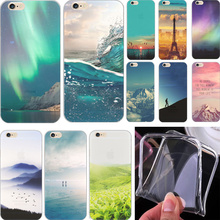 Hot Sold! Luxury Painting Rivers Star Soft TPU Cover For Apple iPhone 5C Cases Case For Phone5C Phone Shell SLRU UDN NZG ZDRR