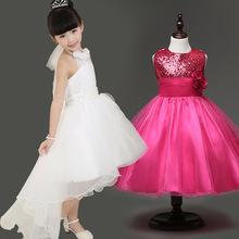 Girls Clothes 2016 New Girls Cinderella Dress For Wedding Dress 4-14 Years