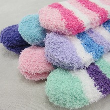 baby socks male and female half of cashmere thick warm towel to spread of children s
