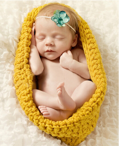 Crochet Infant Baby Sleeping Bags Hand Knitted Newborn Baby Photography Props Cocoon Baby Accessory Baby Girls Boys Clothes(China (Mainland))