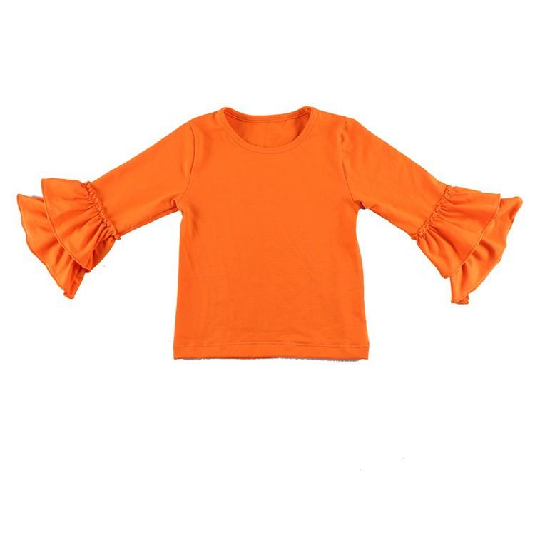 2016 New Real Minecraft Minion Wennikids Solid Cotton Sleeve Ruffle Top,girl T-shirt Children T Shirts Kid Tops Free Shipping  HTB1naqAHVXXXXanXVXXq6xXFXXXE
