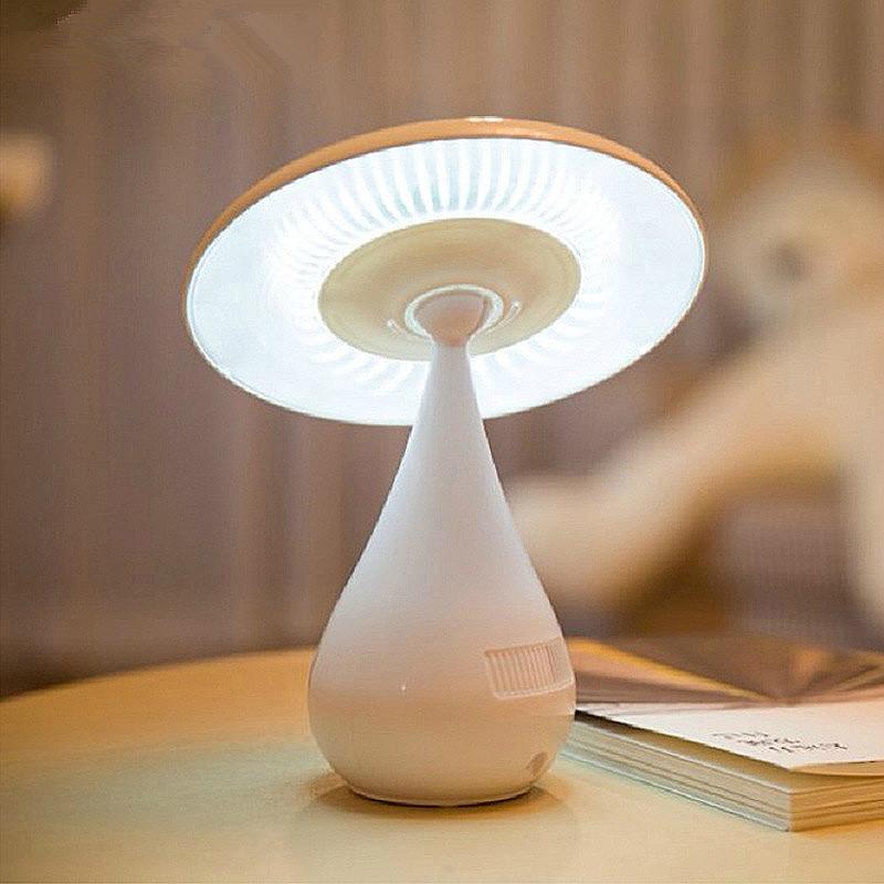 2016 New Arrive <font><b>Elegant</b></font> USB LED Anion Mushroom Vase 48 LED Lamp Intelligent light control Rotatable Desk Lamp <font><b>Home</b></font> <font><b>Decoration</b></font>