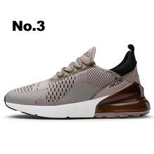 Nuovo Modo di Arrivo di Scarpe Da Ginnastica Da Uomo Cuscino D'aria e Flyknit Tecnologia Zapatos Para Correr Leggero E Traspirante DampingMen Casual Scarpe(China)
