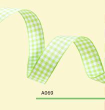 1-1/2″ inch 38mm tartan ribbons