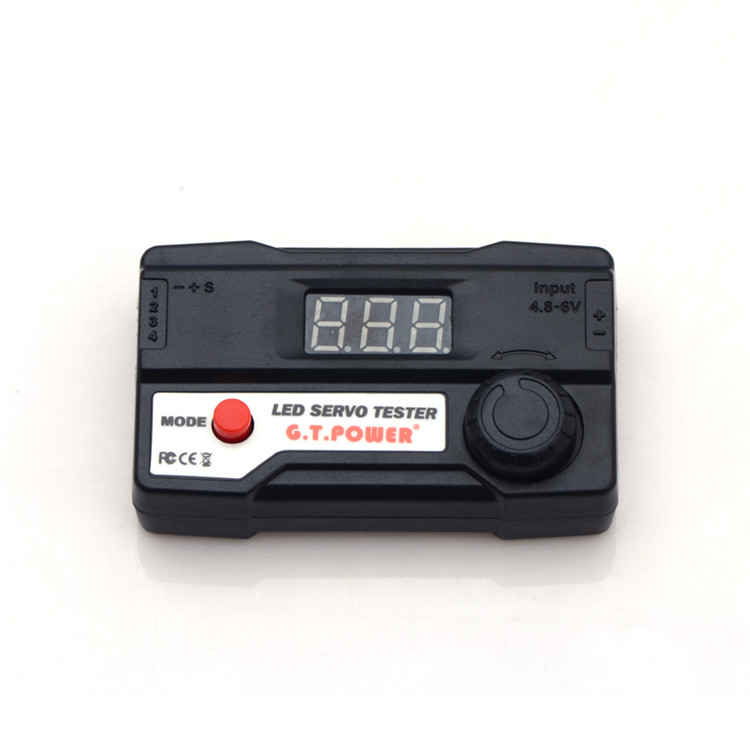 Free shipping--G.T.Power Digital LED Servo Tester for RC Car Trucks Planes, Helicopters(Hong Kong)