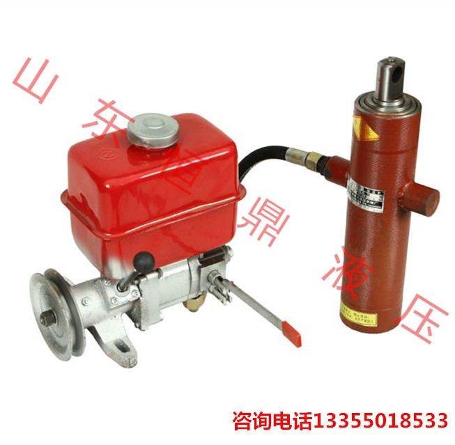 Modified tricycle tricycle dump truck dump equipment Small power machine cylinder power unit(China (Mainland))