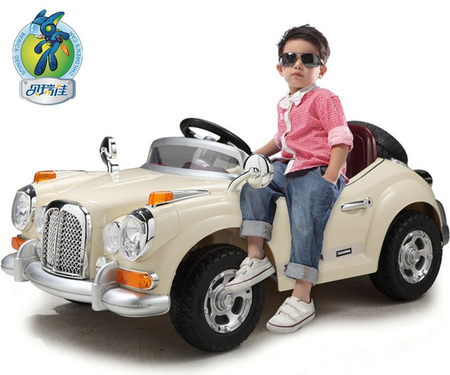 Berry Best 128 Children's Dual Drive Four Way Electric Car