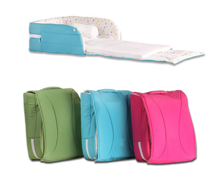 portable baby crib 2 in1 multifunction travel diaper bag baby cot for 0 6 mon. Black Bedroom Furniture Sets. Home Design Ideas