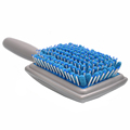 2016 New Microfiber Bristles Absorbent Dry Comb Drying Hair Brushes Care Combs Shower Hair Brush Radiation