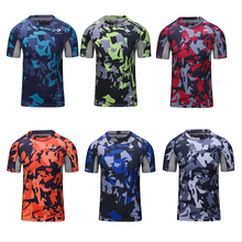 Buy Men Camouflage T Shirt Bodybuilding Compression T-Shirt Fitness Workout Dry Quick Loose Shirt Men Tee Tops Exercise Clothing for $13.80 in AliExpress store
