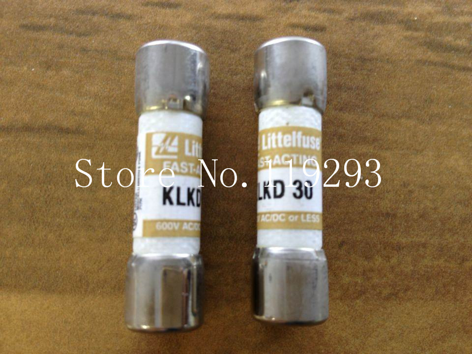 Замыкатель Original SA] KLKD30 Littelfuse 30A 600VAC /dc 10 X 38/10pcs/lot