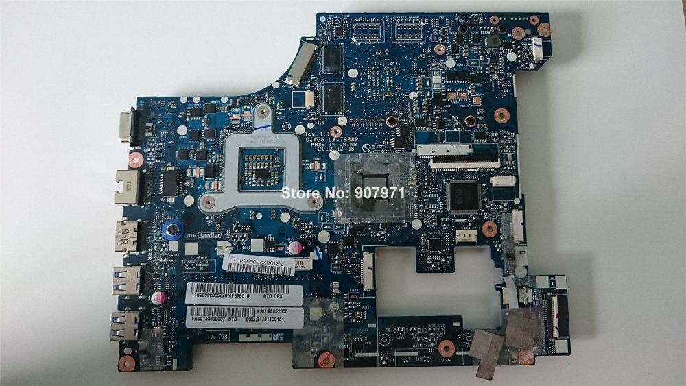 For Lenovo G580 Mainboard N14M-GL-B-A2 DDR3 LA-7988P Laptop Motherboard 100% Tested Work ok<br><br>Aliexpress