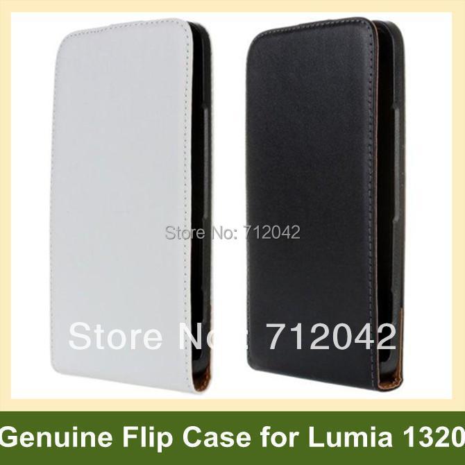 Здесь можно купить  100pcs/lot Genuine Leather Flip Cover Case for Nokia Lumia 1320 with Magnetic Snap DHL/EMS Free Shipping 100pcs/lot Genuine Leather Flip Cover Case for Nokia Lumia 1320 with Magnetic Snap DHL/EMS Free Shipping Телефоны и Телекоммуникации