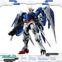 GAOGAO PG GN-0000 1/60 00 Raiser Gundam Mobile Suit kids Action Figure educational toys 30cm anime assembly Robot model juguetes