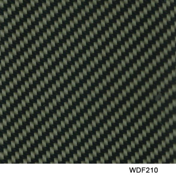 Free shipping! WDF210 Decorative Material 10 square Width 0.5m water transfer carbon fiber printing transfer film(China (Mainland))