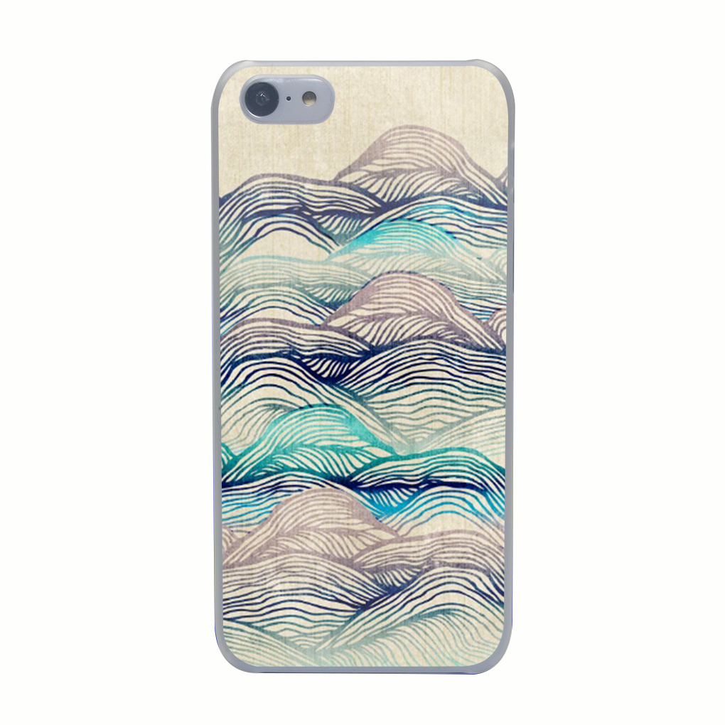 2411G Ocean Ujs Print Hard Transparent Case Cover for iPhone 4 4s 5 5s 5c SE 6 6s Plus Thin Style(China (Mainland))
