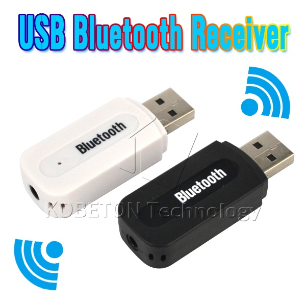 High Quality USB Bluetooth Music Audio Receiver Adapter 3.5mm Stereo Audio to Speaker Sound Box for Apple iPhone 4/5/5S/6 Plus(China (Mainland))