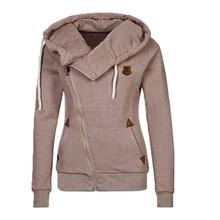 New Fashion Women Hoody 8 Colors Long Sleeve Slim Fit Jumper Hoodies Coat Sweatshirt with hooded free shipping LN835E(China (Mainland))