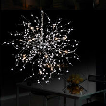 Beaded Floral Chandelier Light Fixture G4 18 lights Vintage French Chandelier Luster Suspension Hanging Light Global Lighting(China (Mainland))