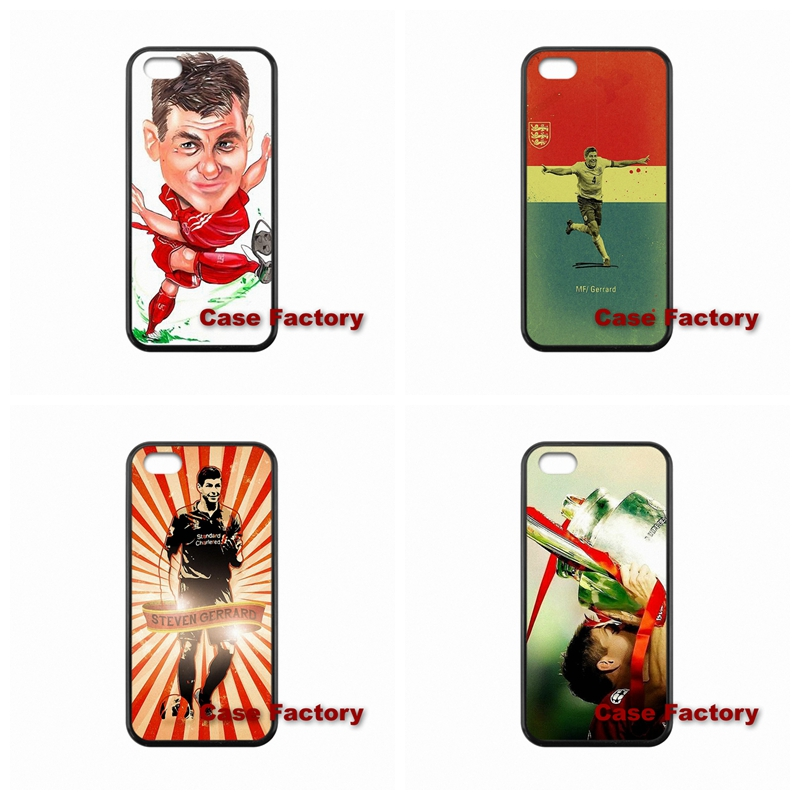 Cases Capa Steven Gerrard For iPhone 4 4S 5 5S 5C 6 6S Plus SE iPod Touch 4 5 6 LG G2 G3 G4 L70 L90 Nexus 4 Nexus 5 HTC One M9(China (Mainland))