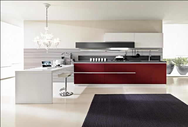 2015 new free design Custom 2pac kitchen cabinet Lacquer kitchen furniture hot sales modular kitchen(China (Mainland))