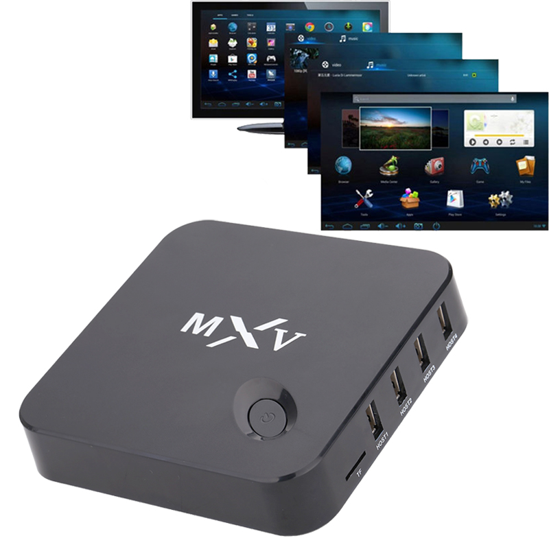 Quad Core Andriod Smart Tv Box MXQ OTT S805 Chip Network Player MXQ Amlogic 1G/8G GPU XBMC Smart TV KODI WiFi 1080P HD