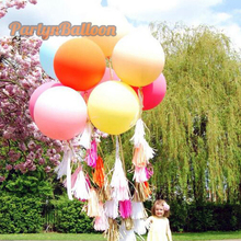 1PC Wedding Valentine Party Round 45CM Colorful Giant Balloon 18inch Decorate Balloon(China (Mainland))