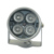 Free shipping 30M Solid metal housing dome illuminator  light invisible IR Infrared LED Night Vision For Surcurity CCTV Camera