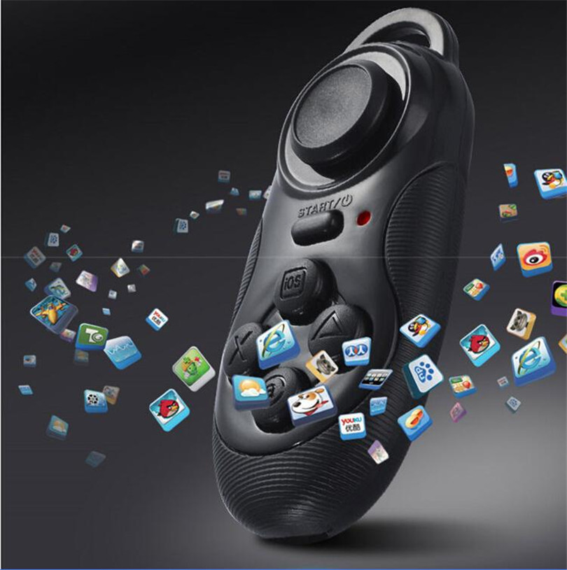 100 New Wireless Bluetooth Game Controller Joystick Gaming Gamepad for Android iOS Moblie Smart Phone for