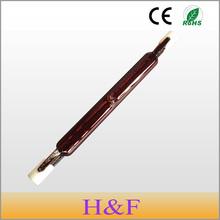 5pcs/lot New Arrival J118 150W 300W 500W 220V Infrared Halogen Lamp Bulb Single Spiral Tube for Heating Drying Quartz Tube Glass(China (Mainland))