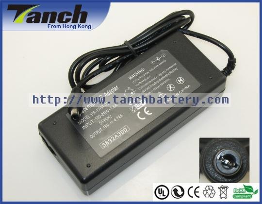 Replacement LENOVO laptop ac adapters for 125,IdeaPad Y510,3000 Y410,Y310,Y300 7759,7756,Y550,Y650,G530,G550,Y430,19V,90W(Hong Kong)