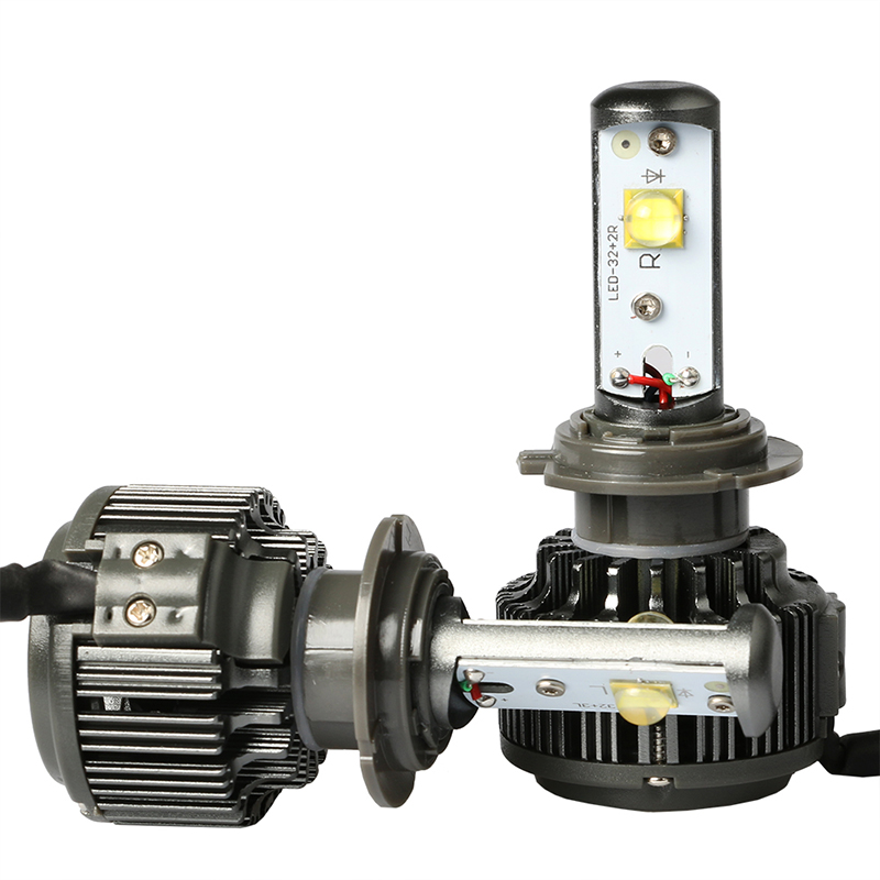 H7 Car Headlight Bulbs Cree Led Auto Lights 30W 6000K Head Lamp For Automobiles(China (Mainland))