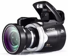 "Sensor  HD 720P Polo PROTAX HD520 Digital Camera 2.5"" LTPS LCD Screen Trip HD5 16MP CMOS"