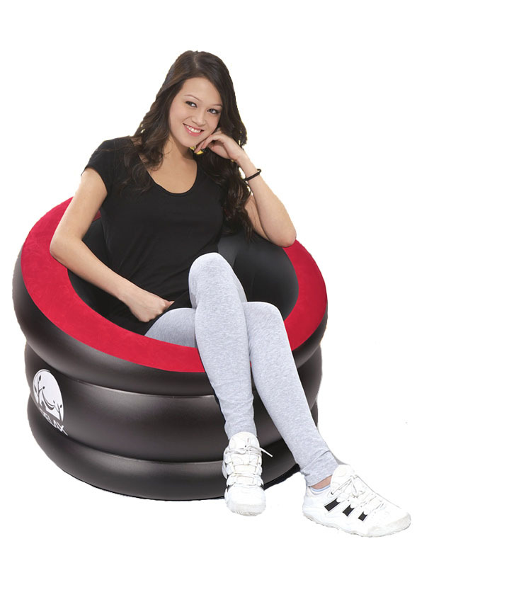 indoor and outdoor inflatable classic 1 person sofa inflatable sofa 88*85*65cm(China (Mainland))