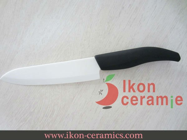 "Free Shipping! High Quality Zirconia New 100% 6"" Ikon Japanese Ceramic Chef Knife(AJ-6001W-AB)"