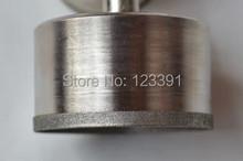 Envío gratis de electrochapado diamante fino estupendo pared agujero consideró la herramienta 27 * 52 * 22 mm para procesamiento de jade pulsera tienda