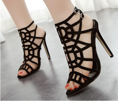 free shipping NEW Women Sandals high heel high heels fashion women shoes sexy Summer shoes Hot sell size 35-40 sandals