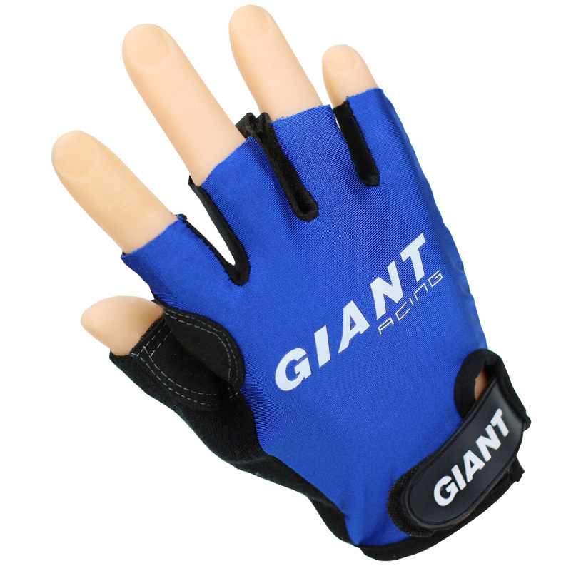 2014 GIANT Cycle GEL racing cycling gloves mtb bicycle Spring off road guantes mountain bike Half Finger ciclismo luvas gloves(China (Mainland))