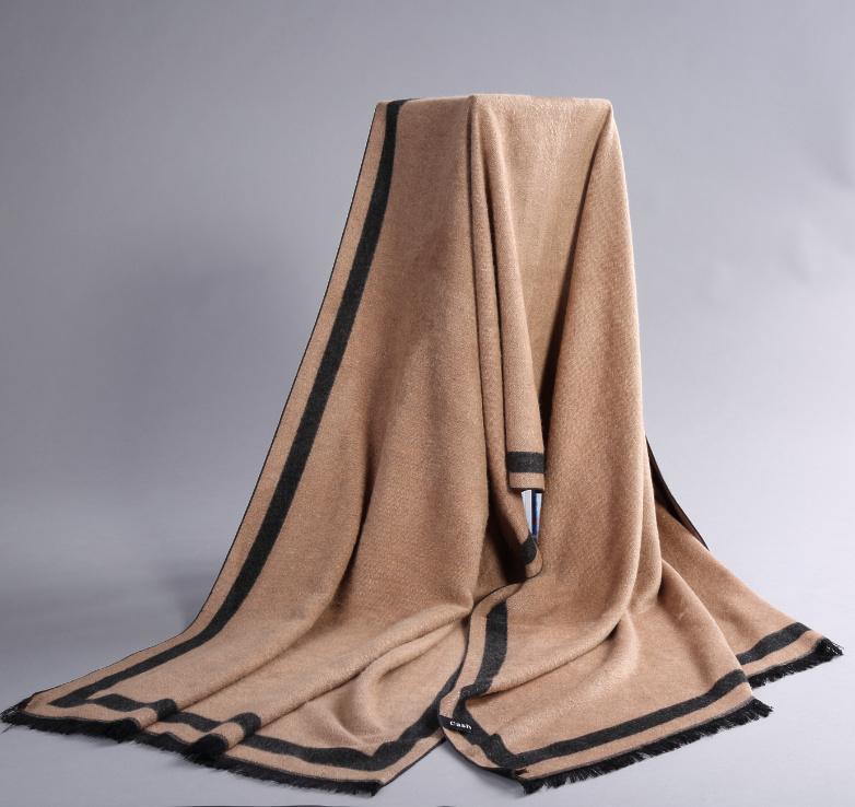 High Quality Fashion winter striped like cashmere cotton scarf mens scarves shawl wrap,casual warm knit women man fashion scarf(China (Mainland))