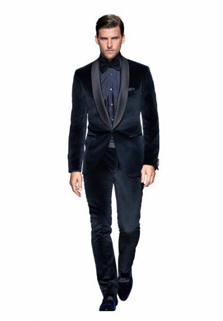2015 New tailored Velvet Groom tuxedos wedding suits for mens 3 pieces suits (jacket+Pants+bow tie)CM76017011Одежда и ак�е��уары<br><br><br>Aliexpress