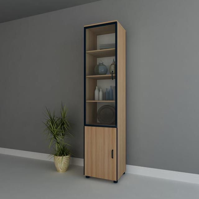 Free shipping Lockers bookshelf simple single bookcase furniture cabinet storage cabinet bookcase wardrobe