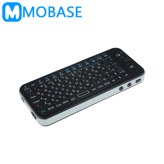 Russian Keyboard KP-810-16A 2.4GHz Wireless 3 Axial Gyro Fly/Air Mouse Mini Gaming Keyboard for TV BOX PC Laptop Tablet Mini PC
