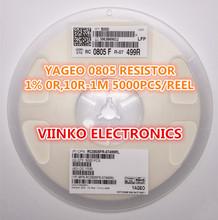 full reel 1% 0805 499k 499K 1/8W SMD Chip Resistor 5000pcs/reel YAGEO New Original Fixed - Viinko Electronics store