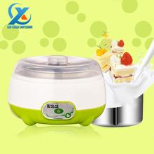 stainless steel liner yogurt machine yogurt maker acidophilus milk tool Health case 220v 15w 1L Fast Shipping(China (Mainland))