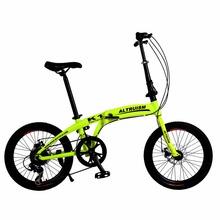 Buy Altruism K1 Kids'bike mountain bikes 7 Speed Bicycle dual disc brakes 20 inch aluminum folding bike boys girls Bicycles for $251.98 in AliExpress store
